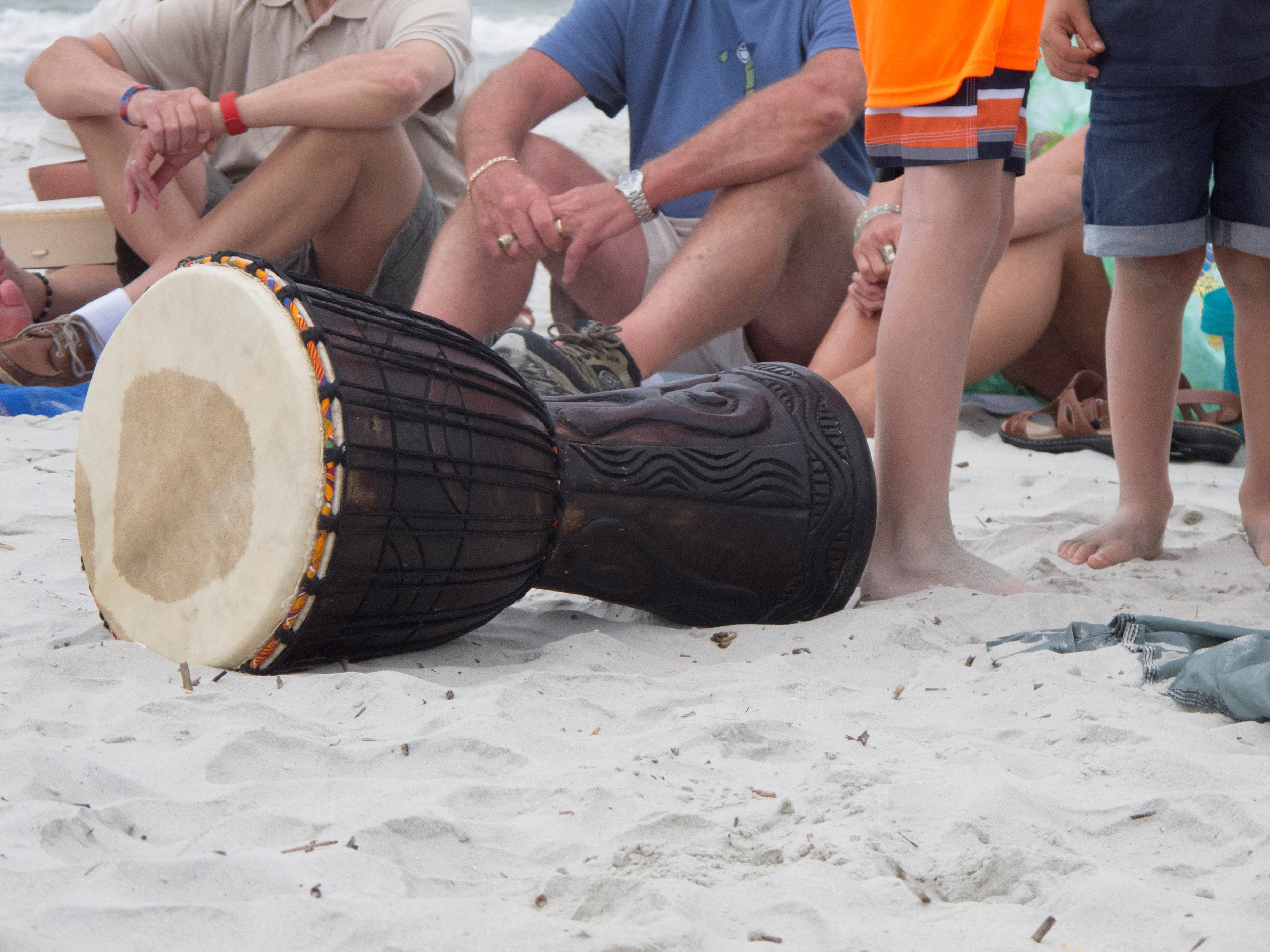 Drumming on The Edge of the Sea: Drum Circles on the Beach