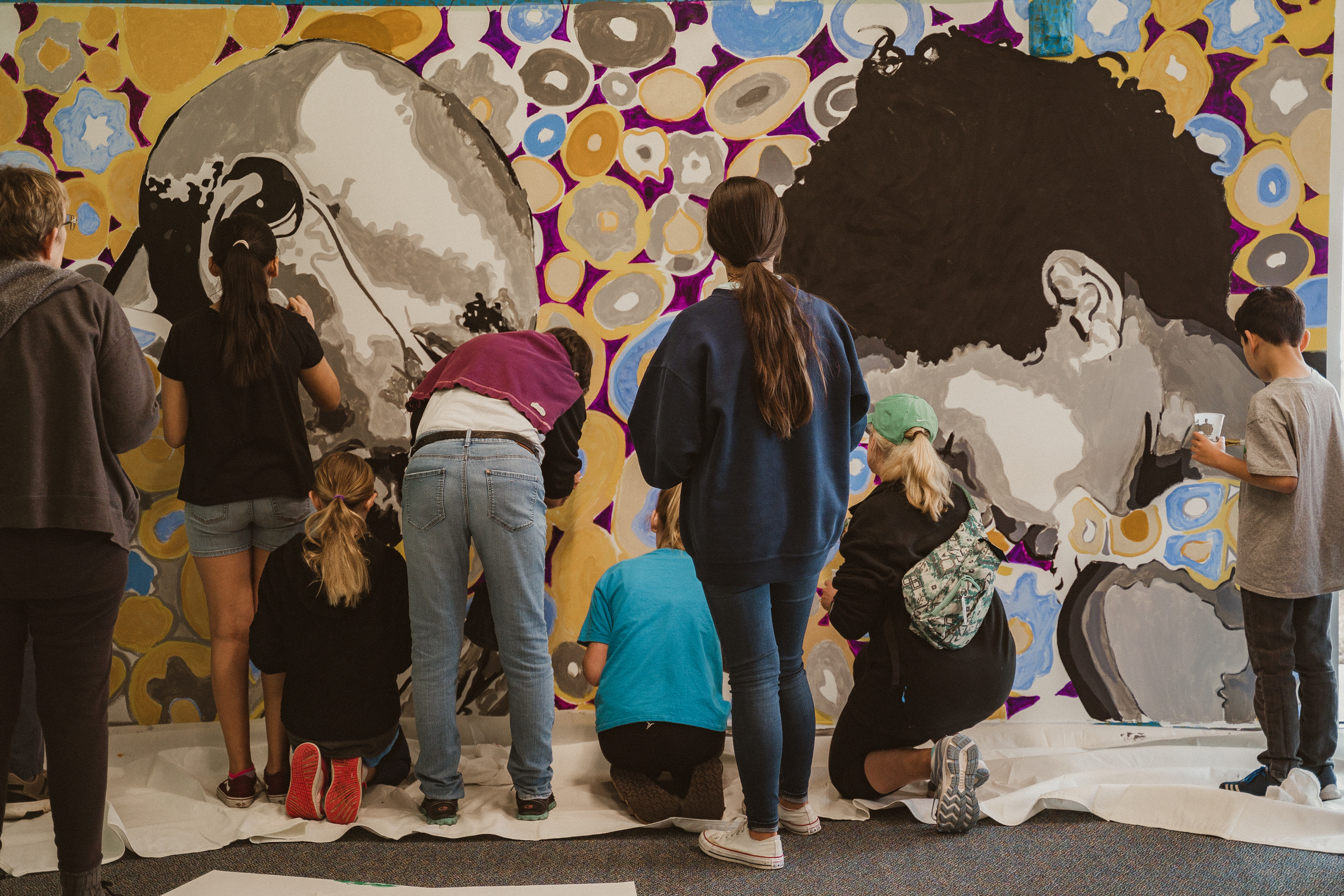 Watch Our Mural Come to Life